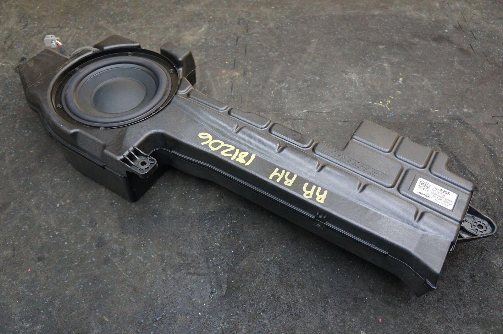 Bose Subwoofer Speaker Box Woofer Assembly 23274906 OEM Chevy Corvette C7  14-18