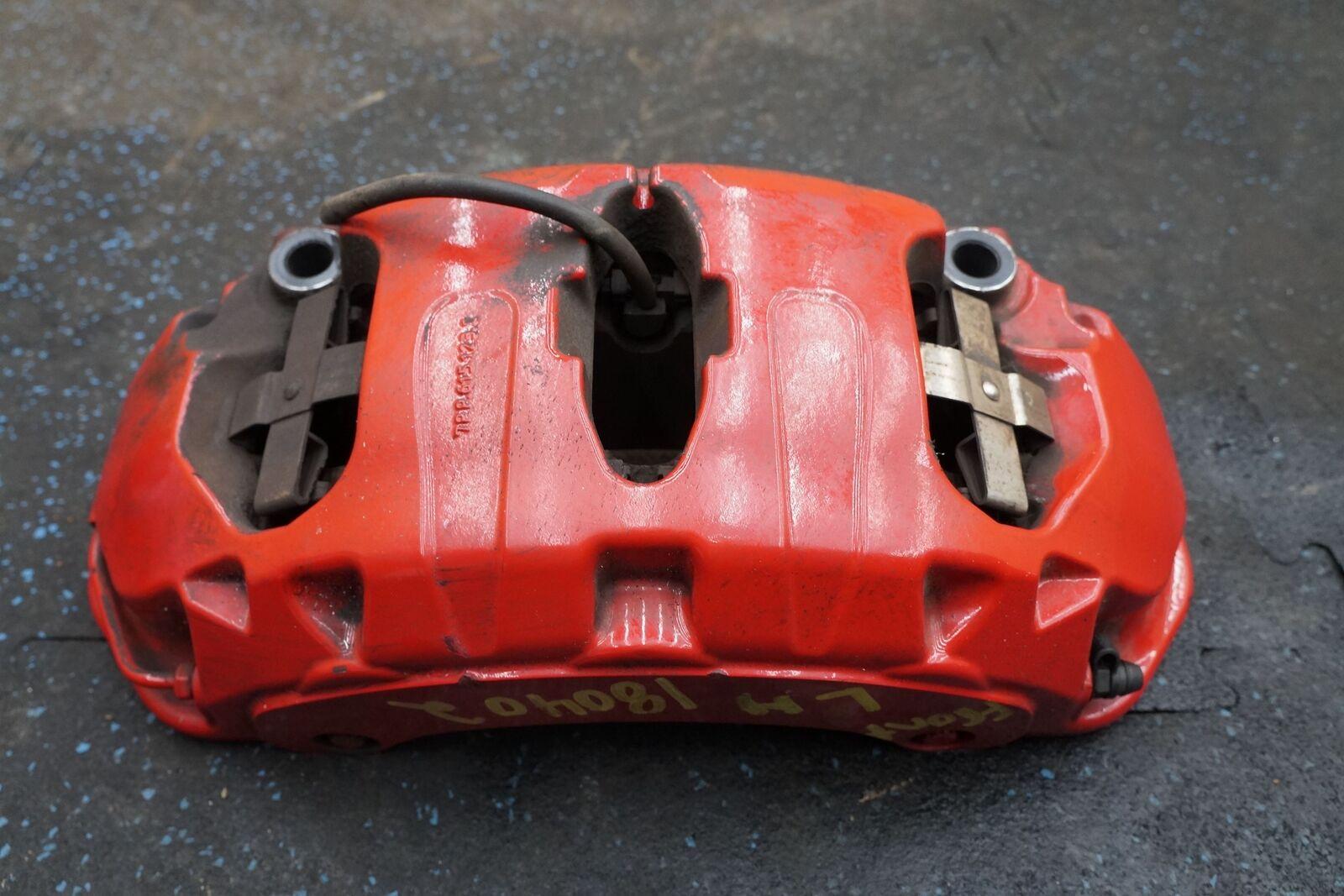 Front Left Brake Caliper Red 7pp615149ak Porsche