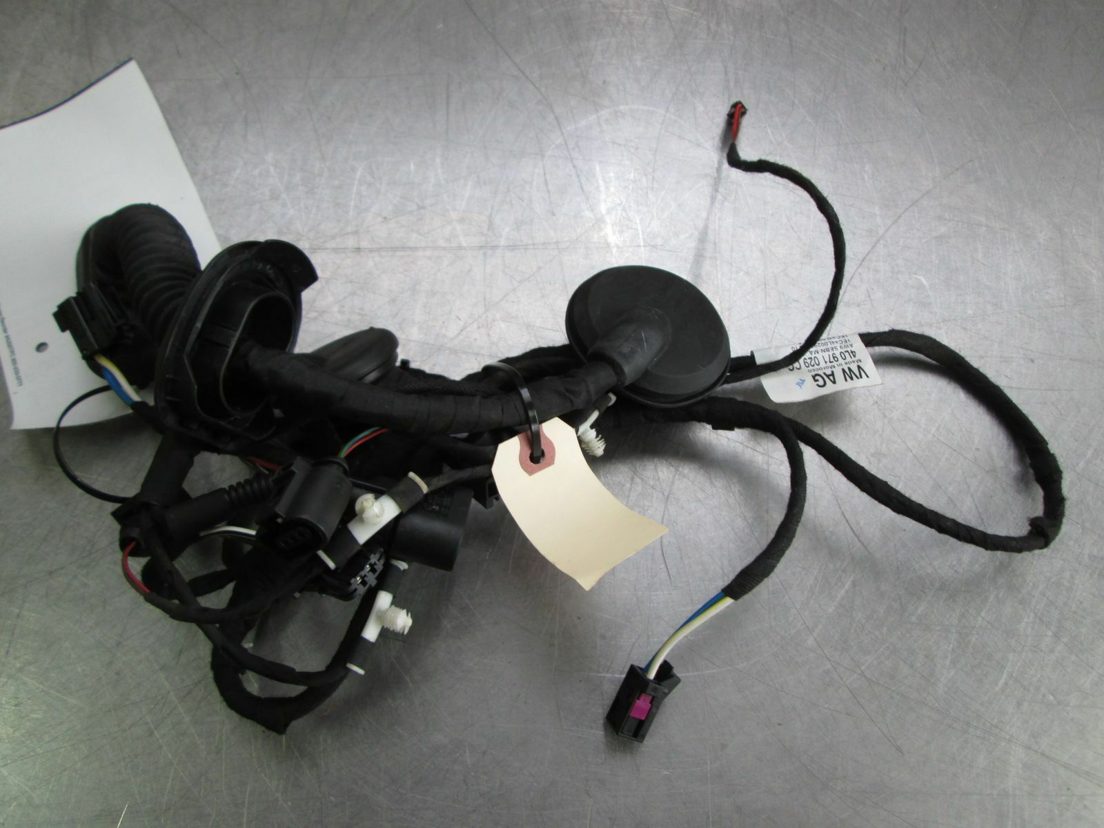 Front Left Driver Door Wiring Wire Harness 4l0971029cc Oem Audi Q7 4l 2010