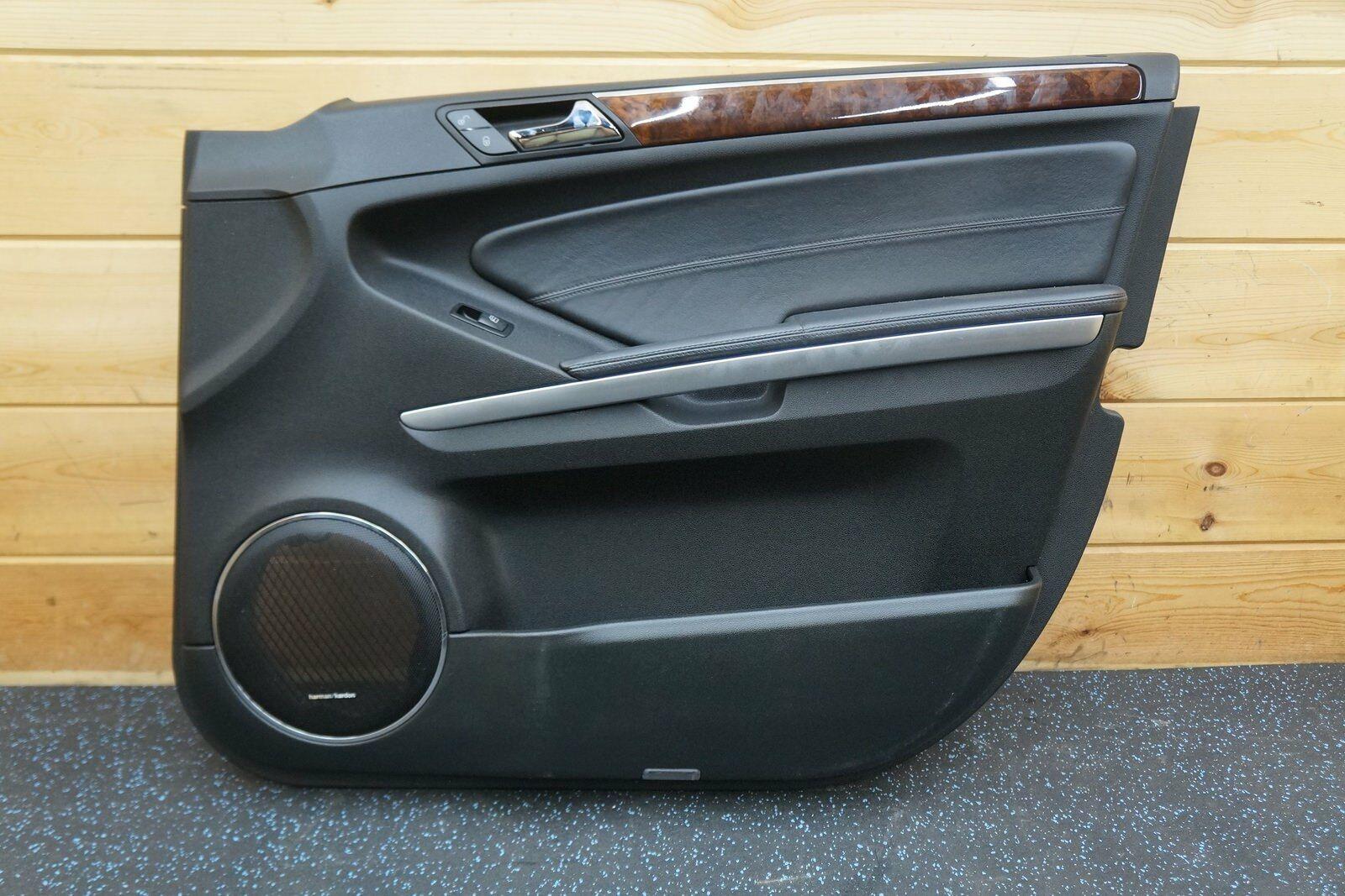 Front Right Door Trim Panel Designo Black Mercedes Gl Ml 350 450 550 63 2009 12