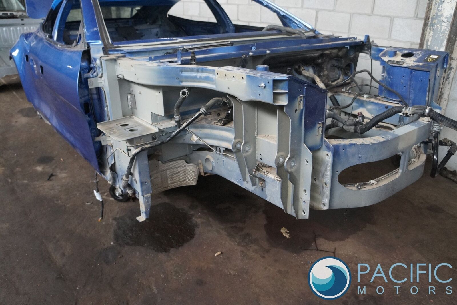 Front Right Radiator Support Fender Frame Rail Metal Body Cut Oem Fisker Karma