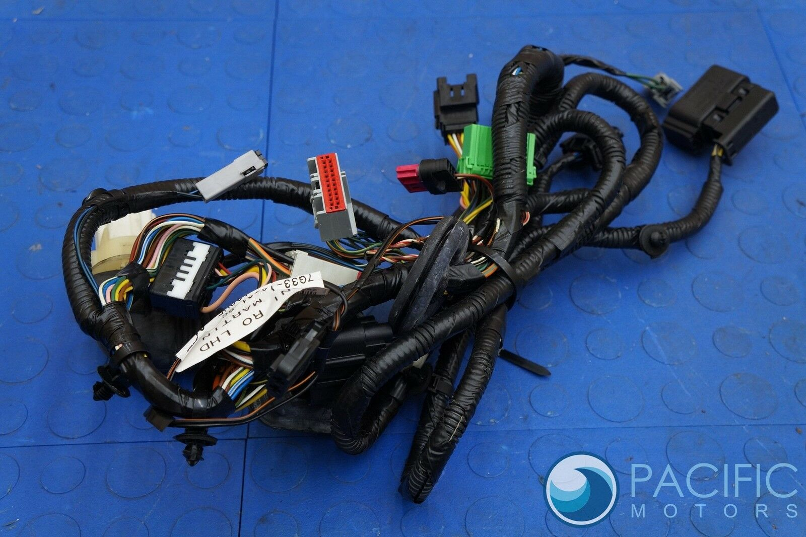 Left Driver Door Wiring Harness 7G33-14631-BC Oem Aston Martin V8 Vantage on