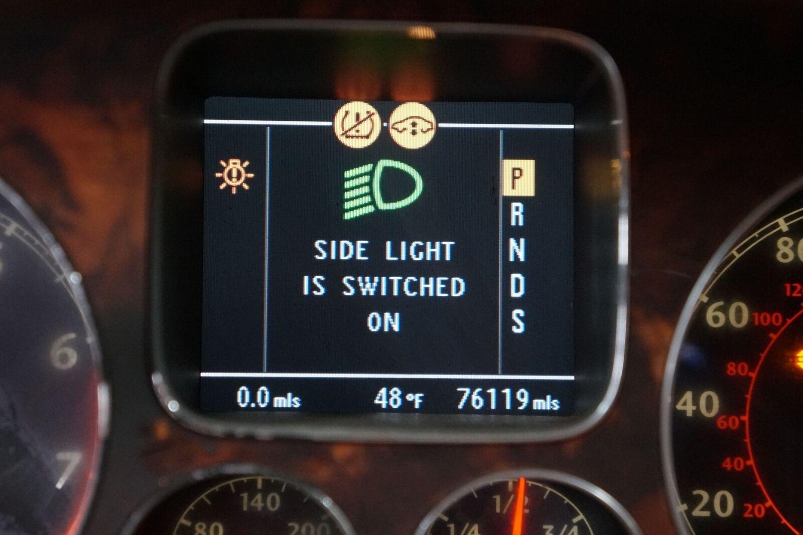 Speedometer Instrument Gauge Cluster 3w8920840c Oem Bentley