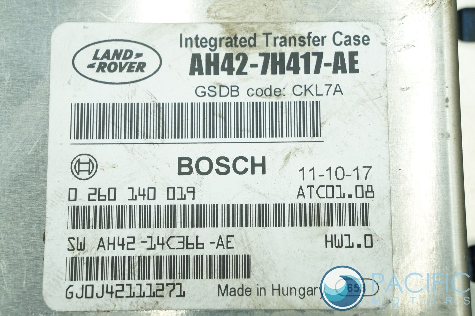 Transfer Case Control Module ECU LR022936 Land Rover LR4 Range Sport 2010-13