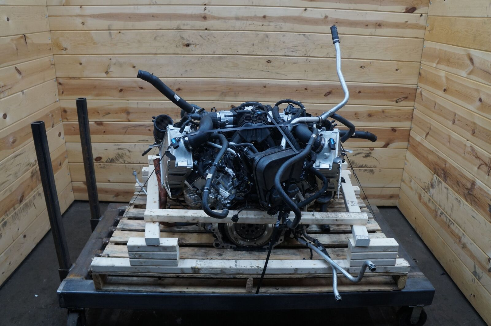 3 8l v8 twin turbo m838t engine motor mclaren 570s 540c. Black Bedroom Furniture Sets. Home Design Ideas
