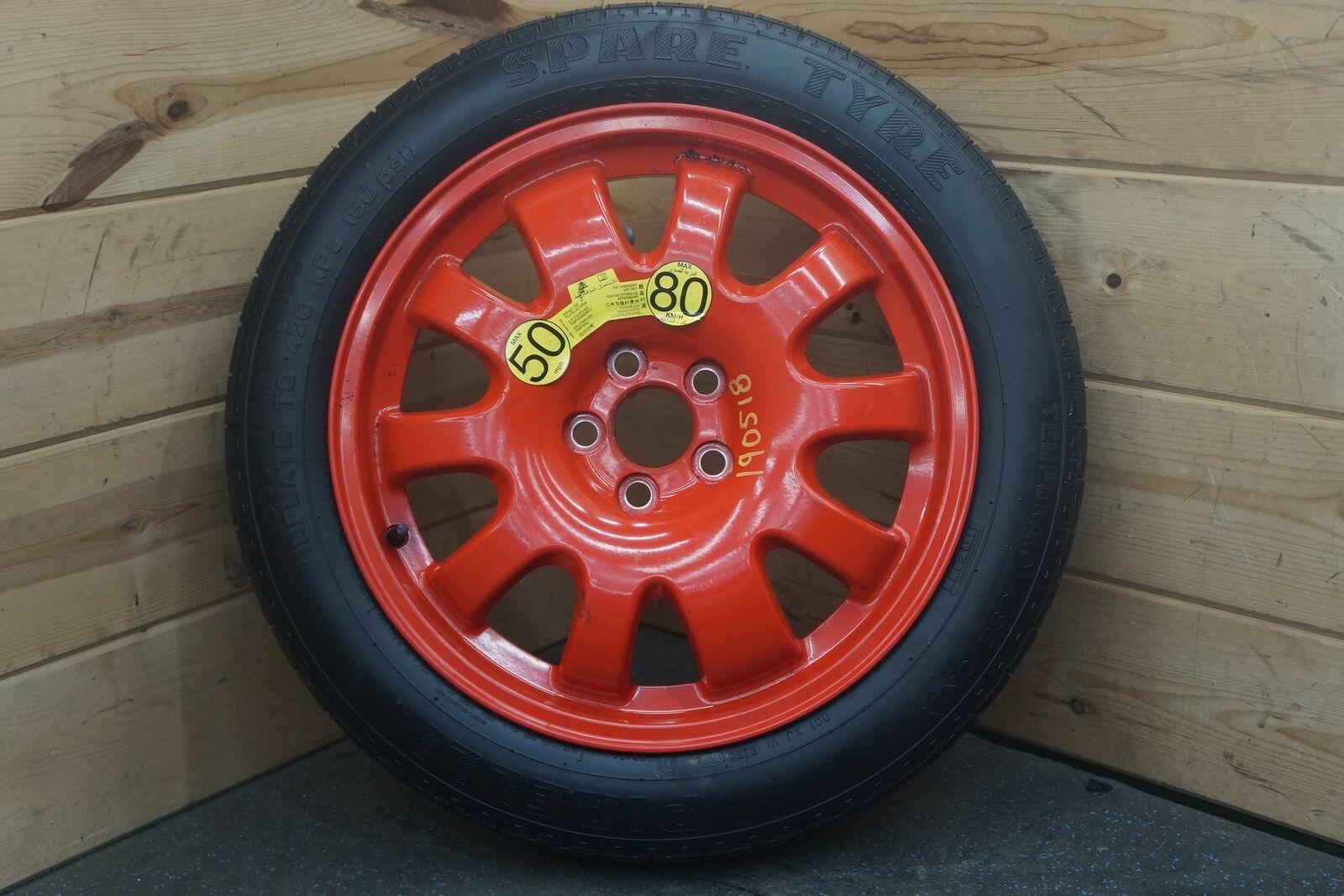 18 Inch Rims And Tires >> Emergency Spare Wheel 18 Inch Rim Pirelli Tire C2c18570 Oem Jaguar Xj 2008 18