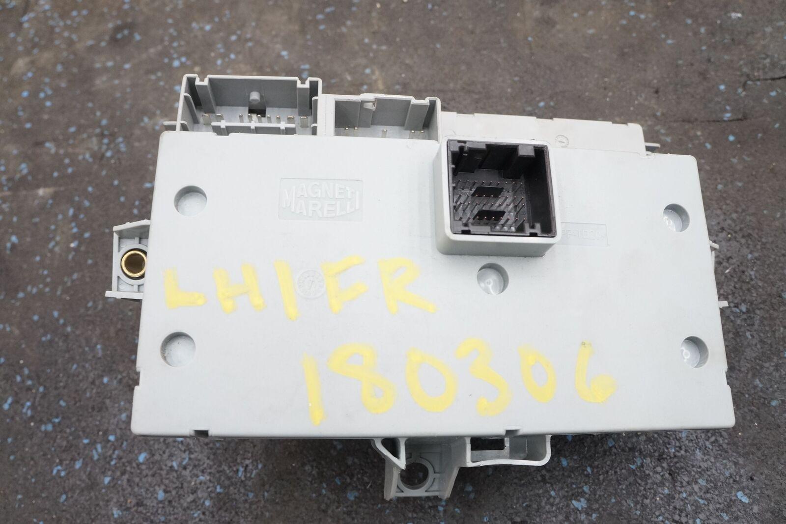 Fuse Box Relay Body Control Module Ecu 229377 245788 Oem Ferrari California 2011  U2013 Pacific Motors