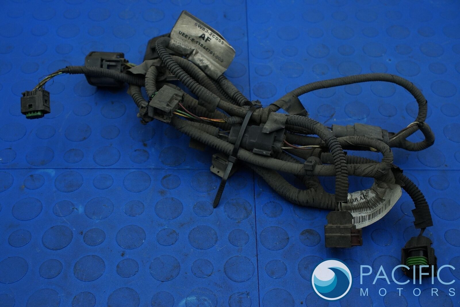 Rear Axle Differential Abs Wiring Wire Harness 6w839l468bc