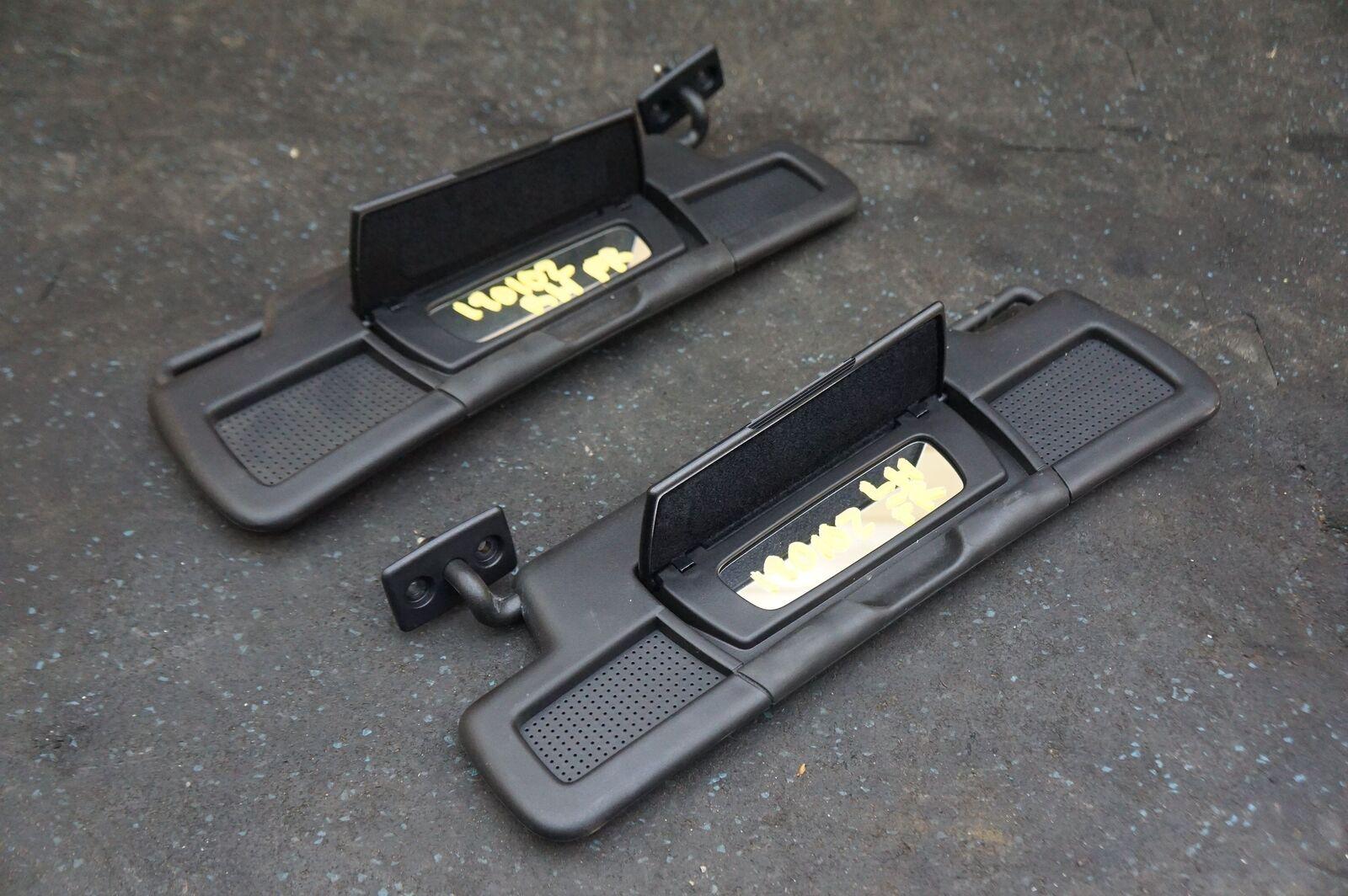 0985a184 Set Left Right Sun Visor Black 1728102300 1728102400 Mercedes SLC300 ...