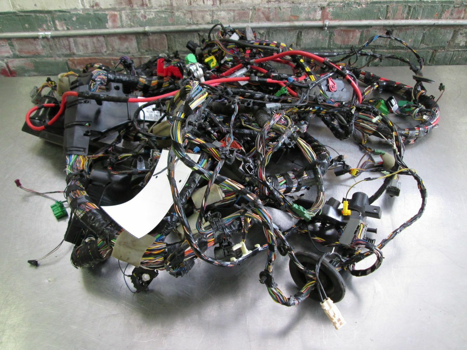 Complete Uncut Body Wiring Wire Harness Convertible Oem