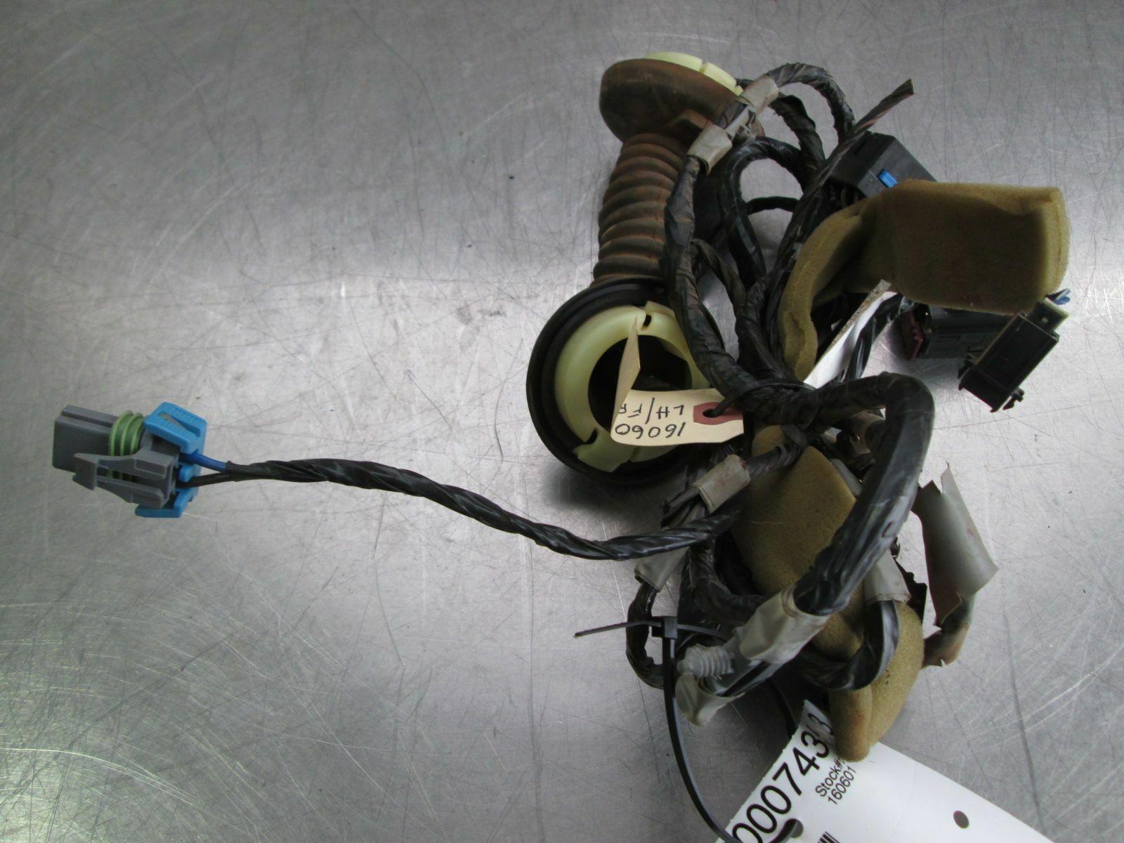 Front Left Driver Door Wiring Wire Harness Mirror Memory