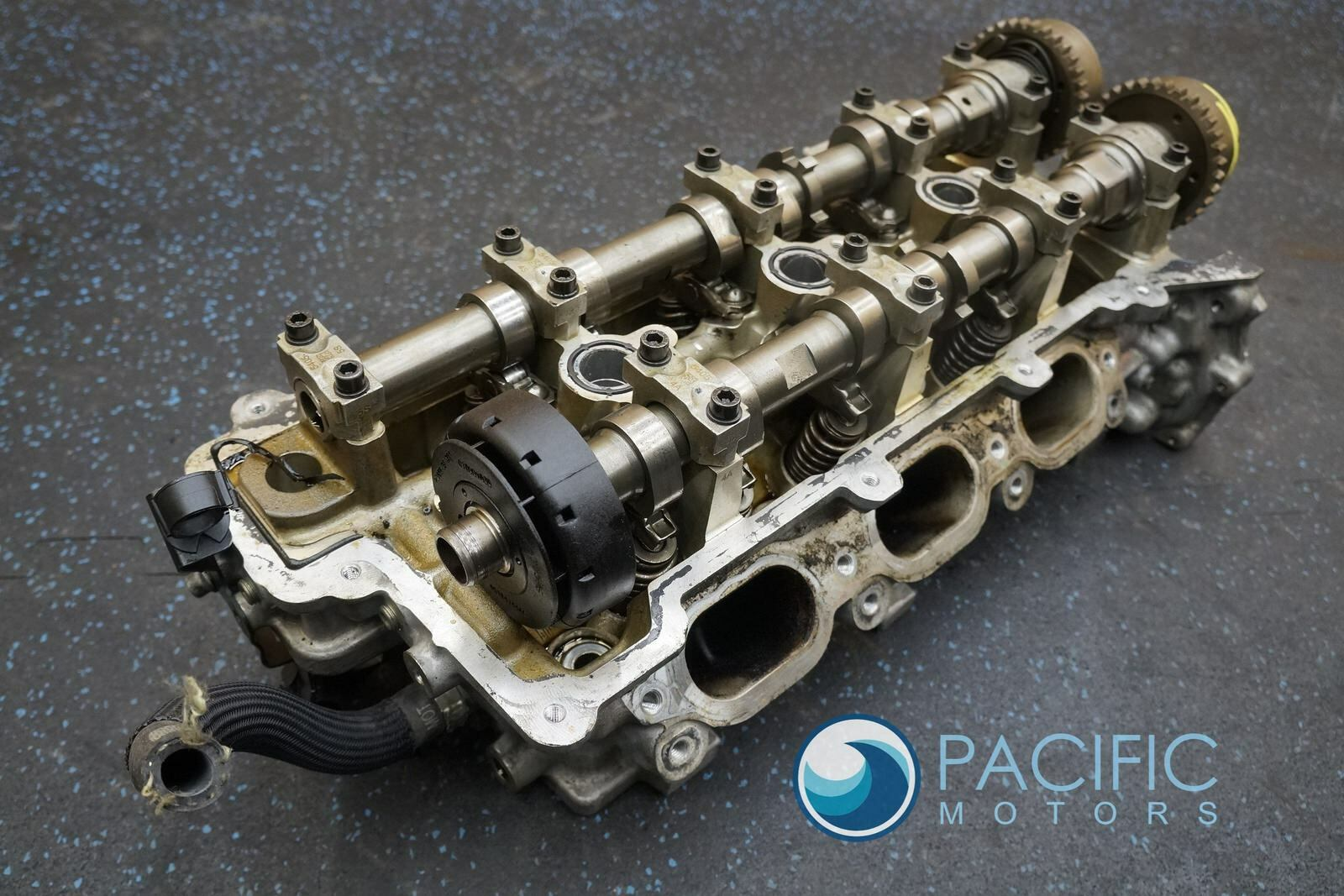Left Engine Cylinder Head Assembly 3 0L 302778 Maserati Quattroporte M156  *Note