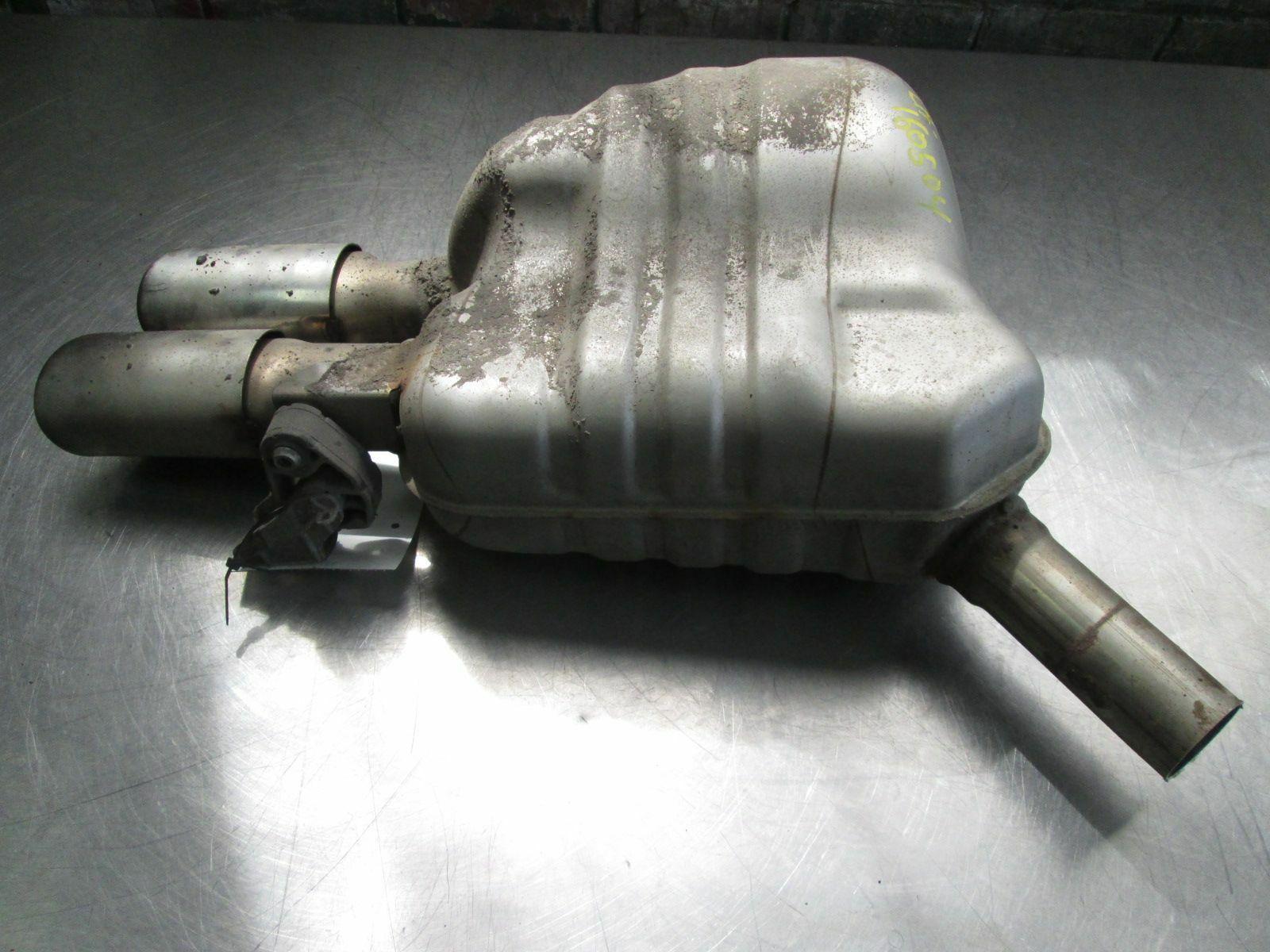 Left Exhaust Muffler Resonator Chrome Tip 8K0253609CE Audi S4 B8 2013-16