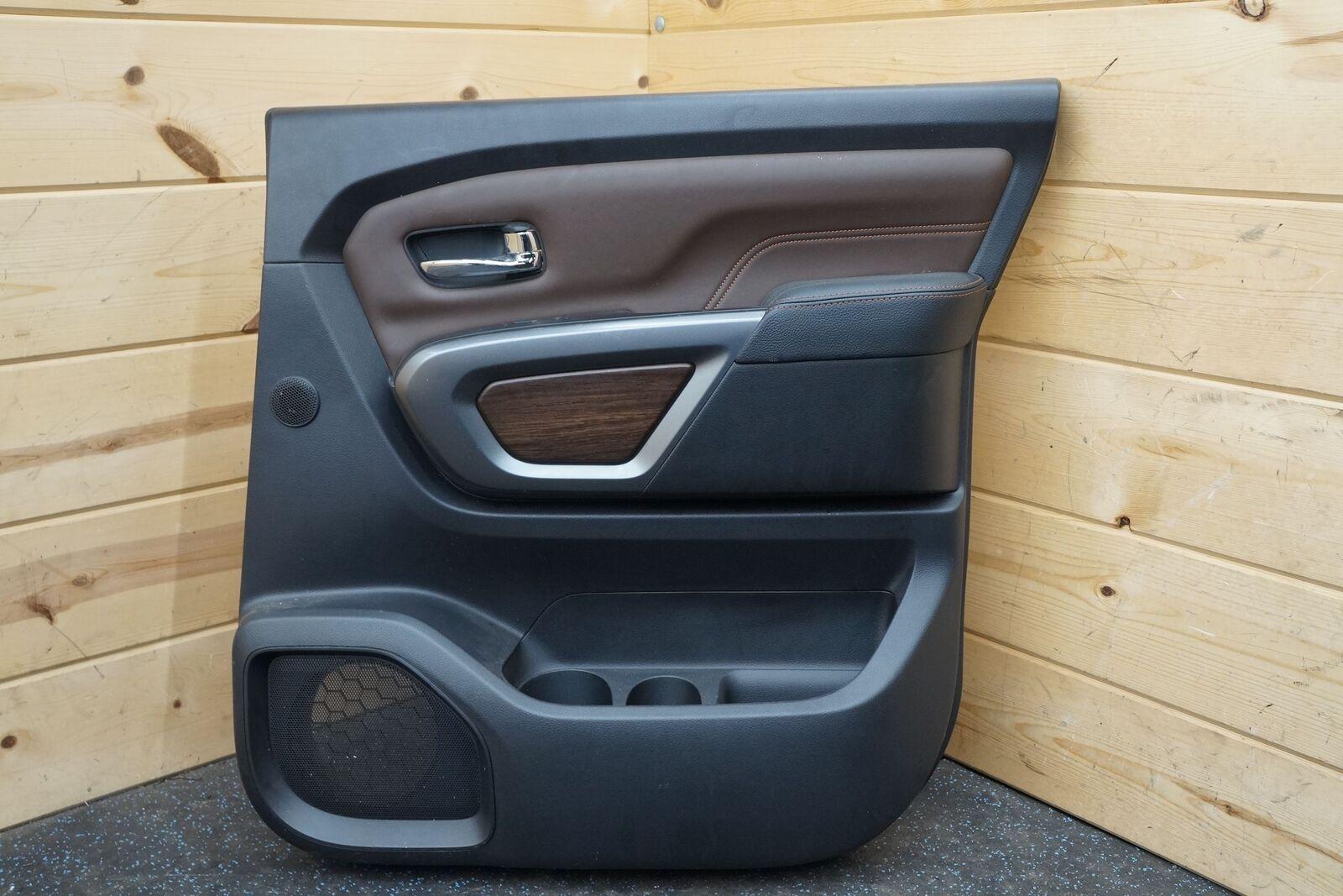 Rear Right Door Trim Panel Platinum Reserve 82900EZ34C Nissan Titan XD  2017-18