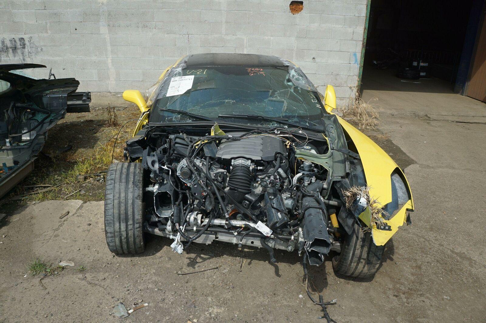Rear Subframe Crossmember Spring 23217711 20941666 OEM Chevy Corvette C7  2014-18