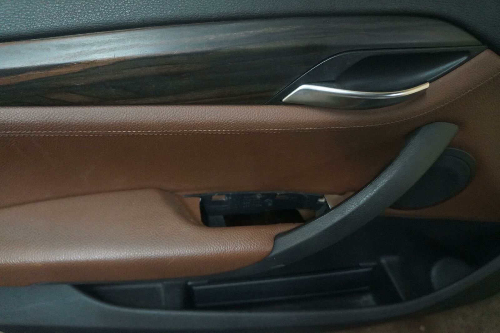 Set 4 Front Rear Interior Door Trim Panel Terra Black Oem Bmw X1 E84 2013 15 Pacific Motors