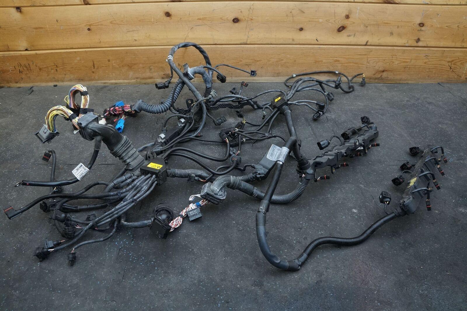 4 4l v8 engine wiring harness set 12517614896 12517638767 bmw 550 gt 4 4l v8 engine wiring harness
