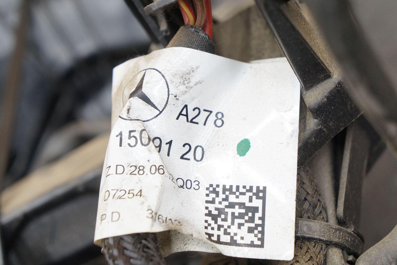 Engine Wiring Wire Harness 46l V8 M278 2781509120 Oem Mercedes S550 Jacket