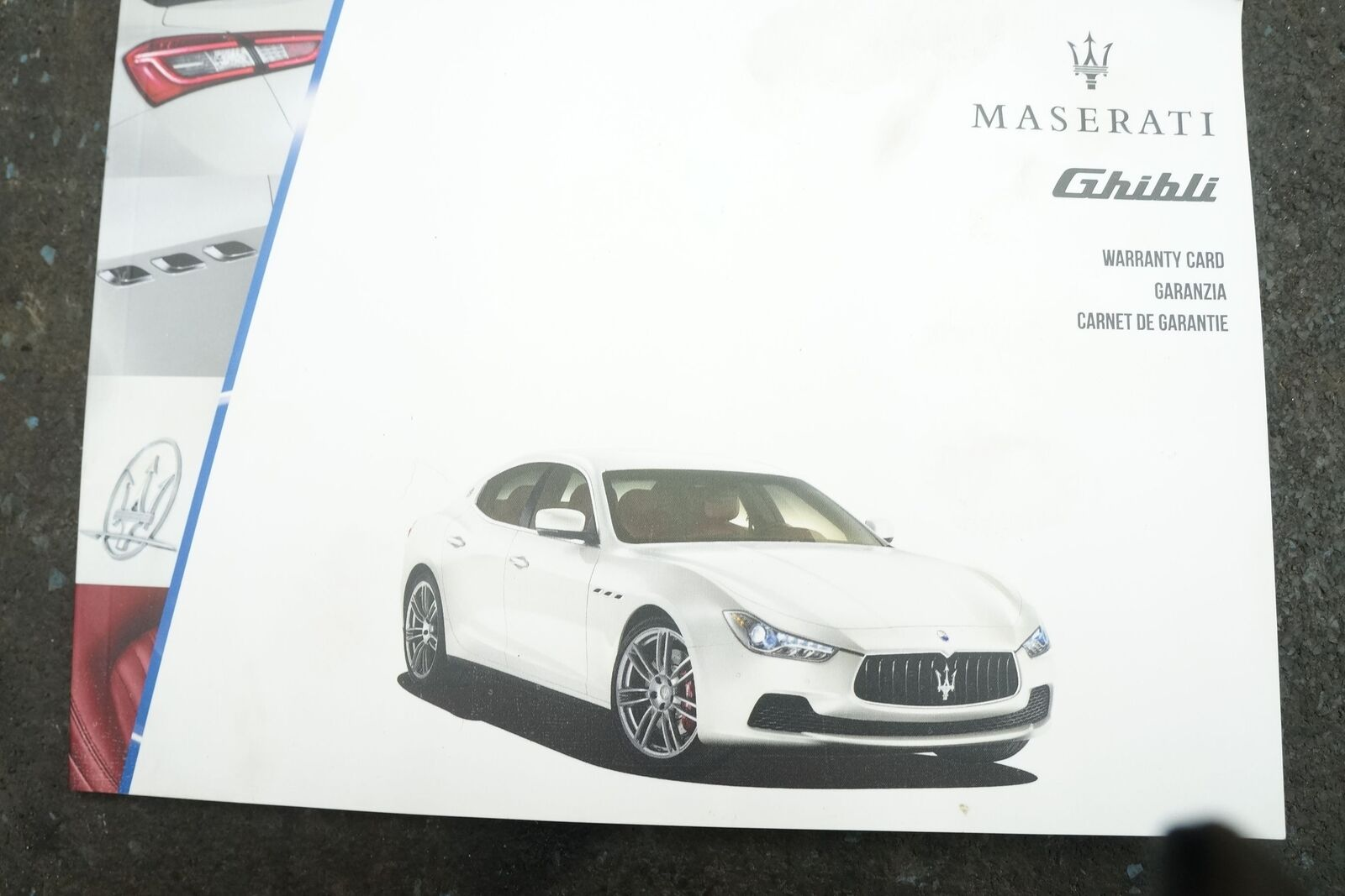 maserati ghibli shop manual