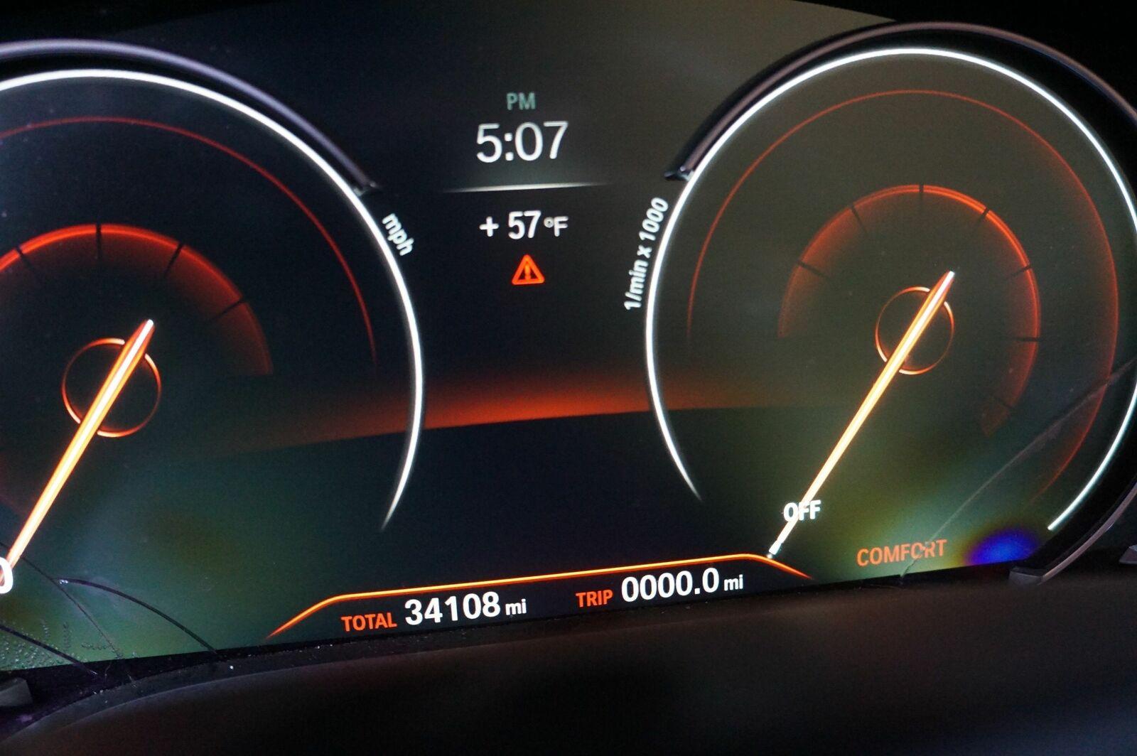 Speedometer Instrument Gauge Cluster 6848582 BMW 740 750 G11 G12 2016-17  *Note