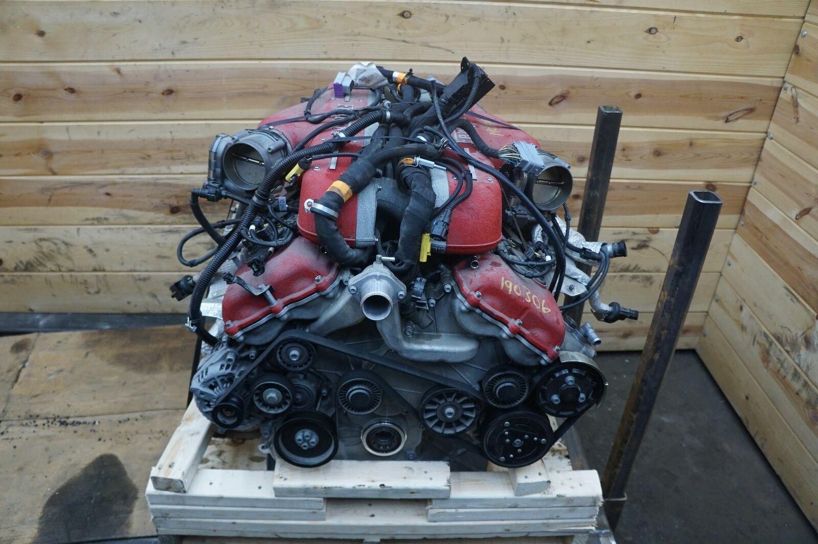 12k In Miles >> 6 3l V12 F140 Engine Dropout Assembly Ferrari Ff 2012 16 12k Miles