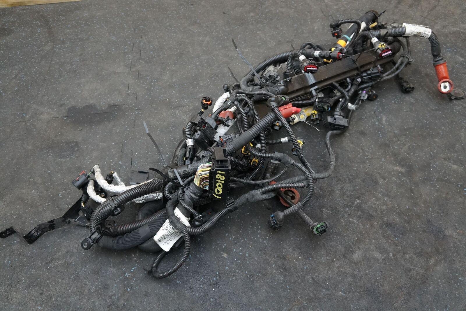 Engine Fuel Injection Wire Harness 295608 Oem Maserati Quattroporte Wiring