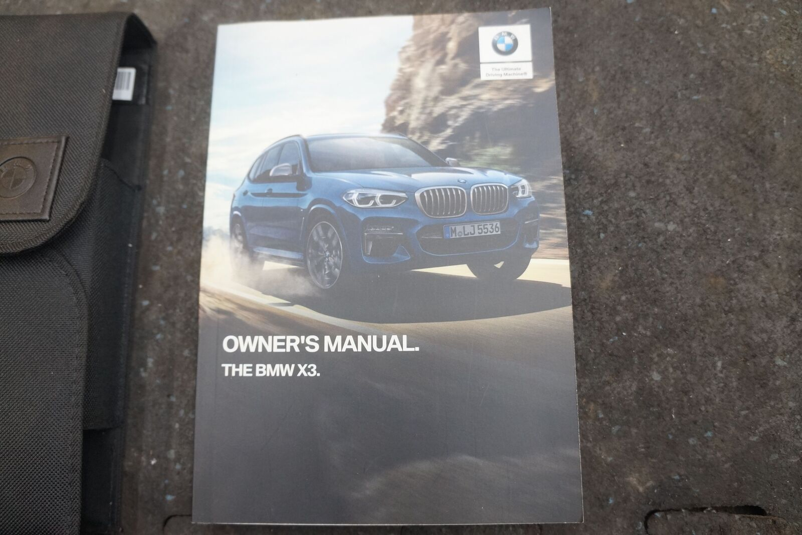 bmw x3 owners manual