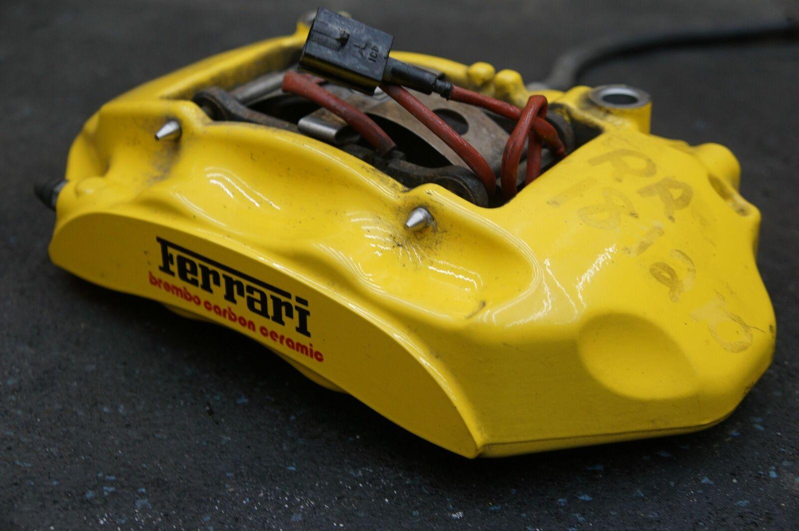 Rear Right Passenger Side Brake Caliper Yellow 282926 OEM Ferrari FF 2011,16