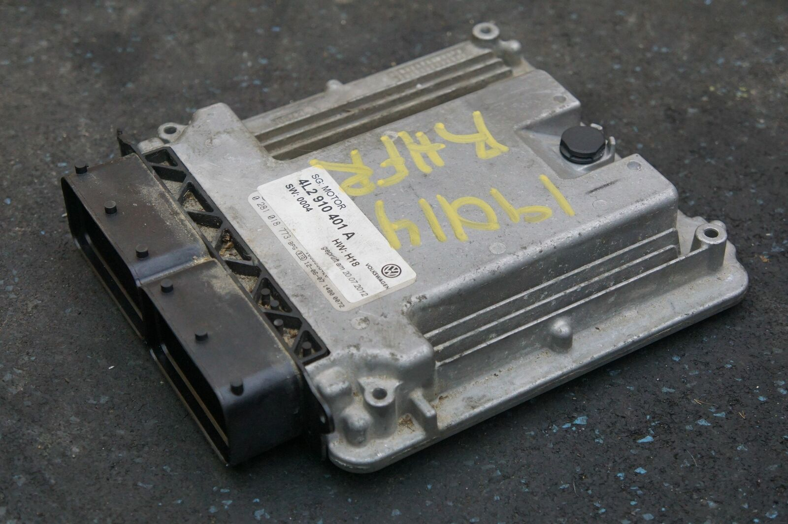 3 0L Diesel TDI Engine Computer Control Module 4L2910401A OEM Audi Q7 TDI  13-15