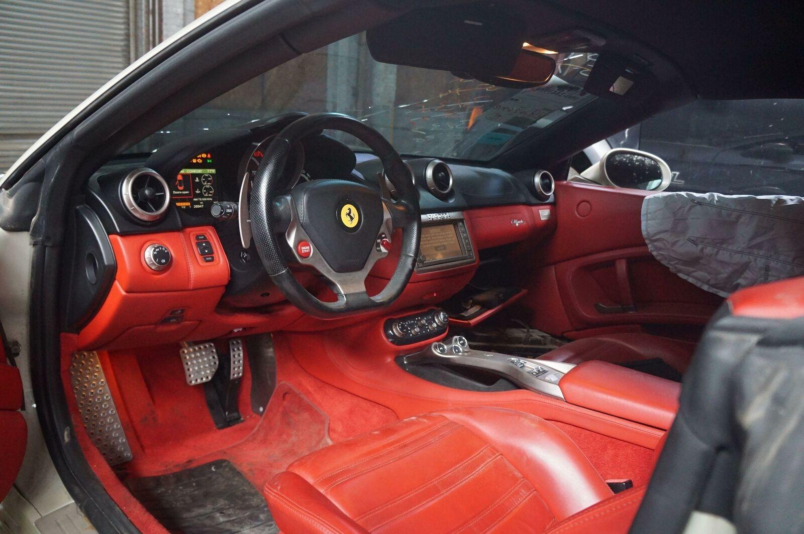 Dashboard Speedometer Cowl Central Trim Black 697521 Ferrari California 2010 Pacific Motors