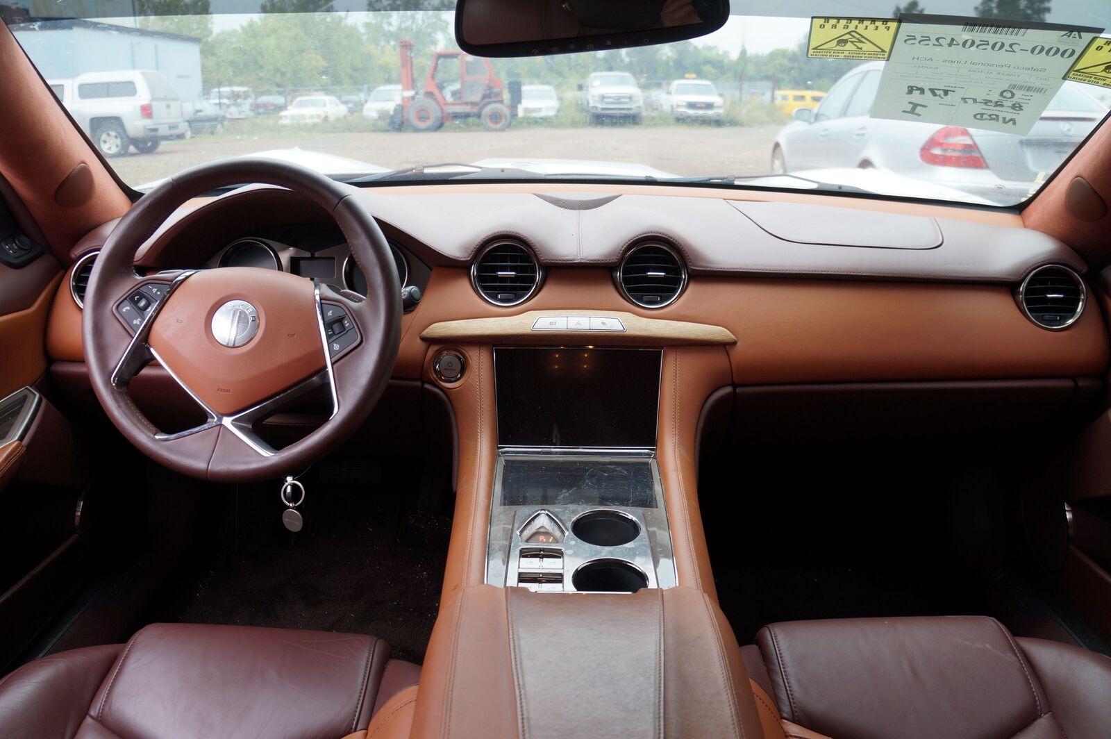 Interior Rear View Mirror Garage Homelink C131166801000 OEM Fisker Karma  2012