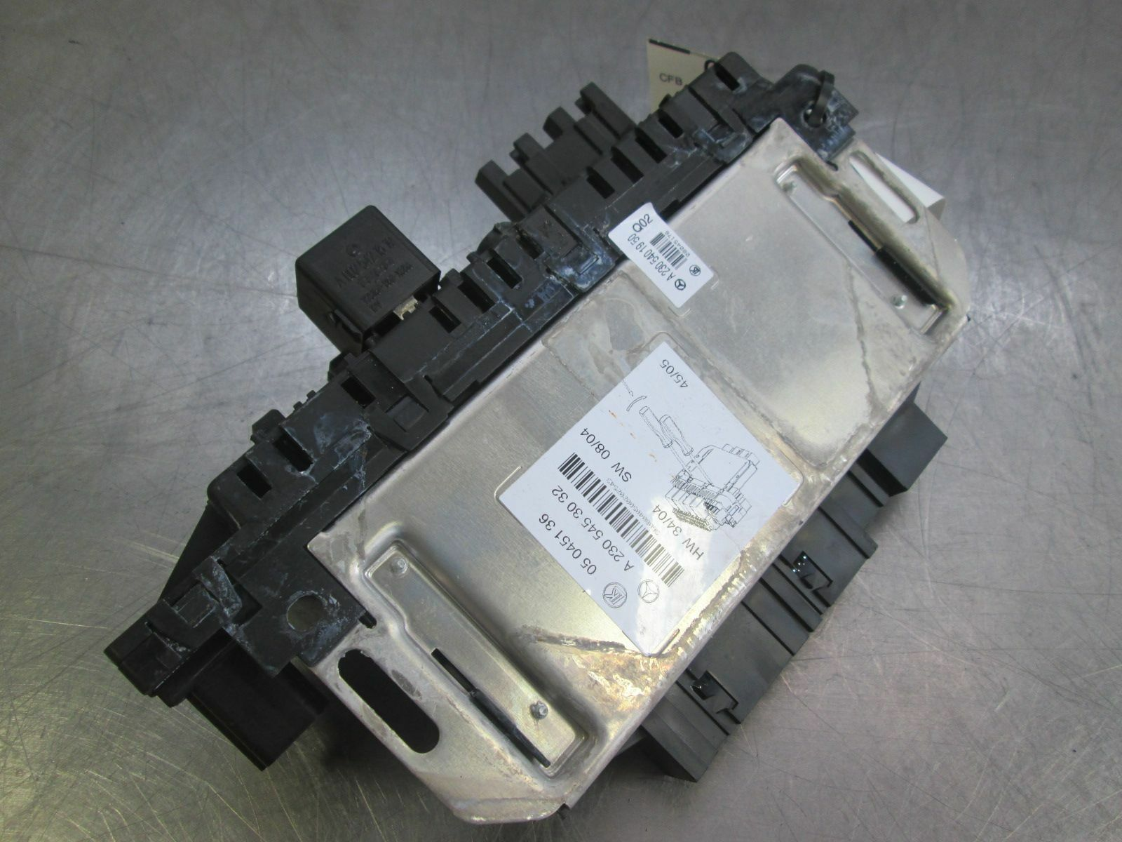 Mercede 500sl Fuse Box