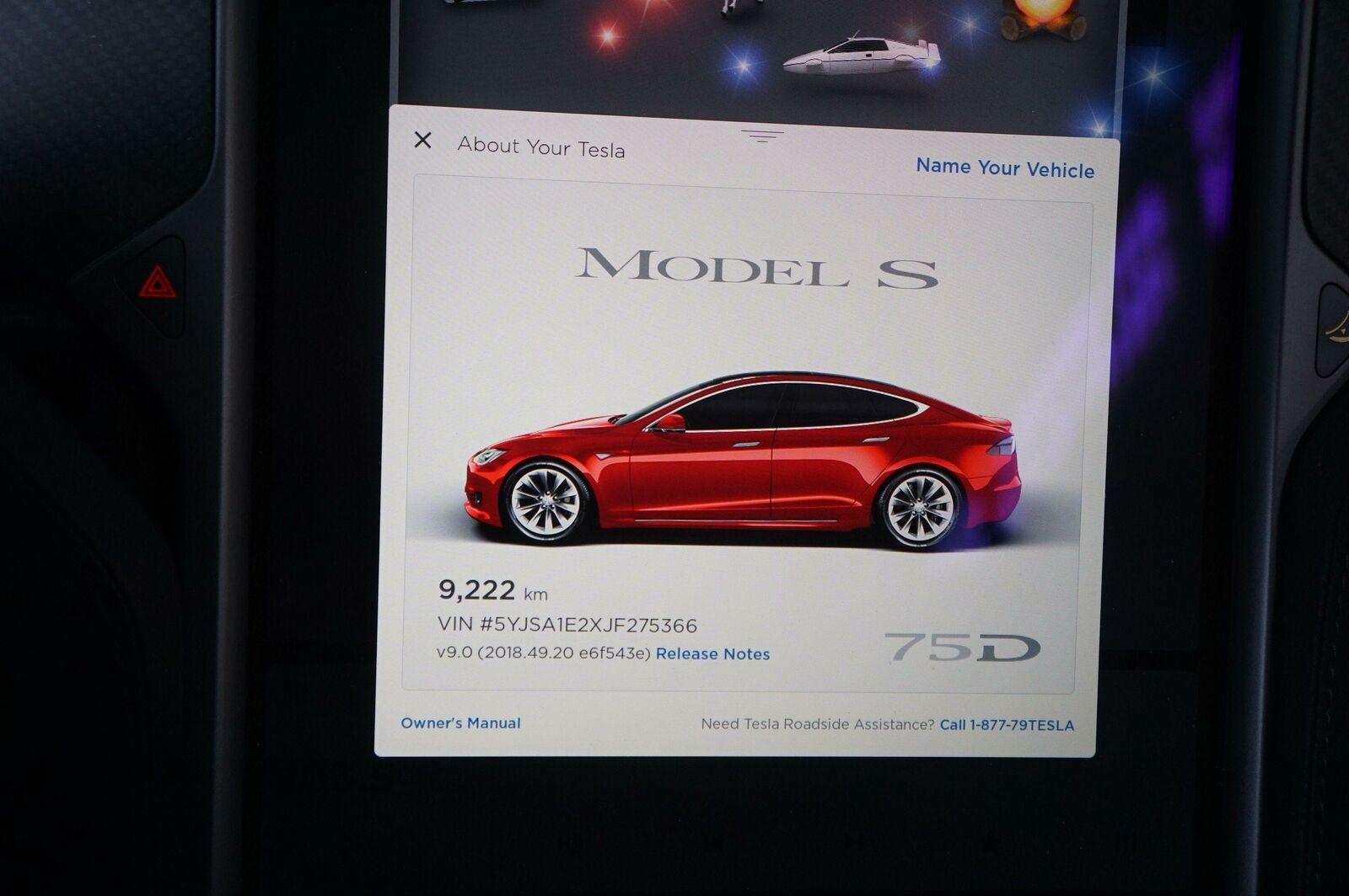 Rear Right Passenger Quarter Panel Body Structural Metal Cut Tesla Model S  2018