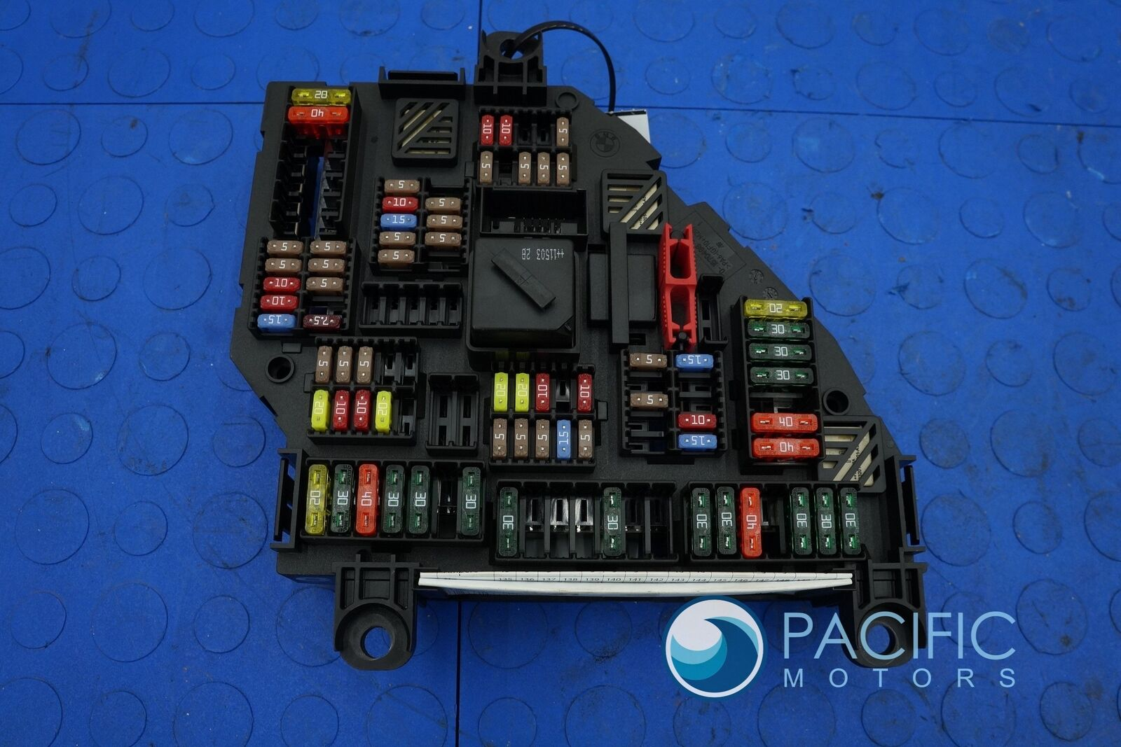 Rear Trunk Power Distribution Fuse Relay Box 61149252812 Bmw 550i F10 2012  U2013 Pacific Motors