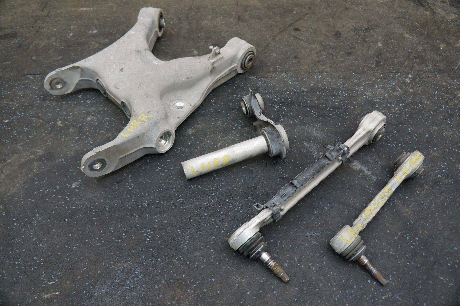 Set 4 Rear Left Control Arm OEM BMW X5 X5M X6 X6M E70 E71 F15 F16 F85 F86  07-18