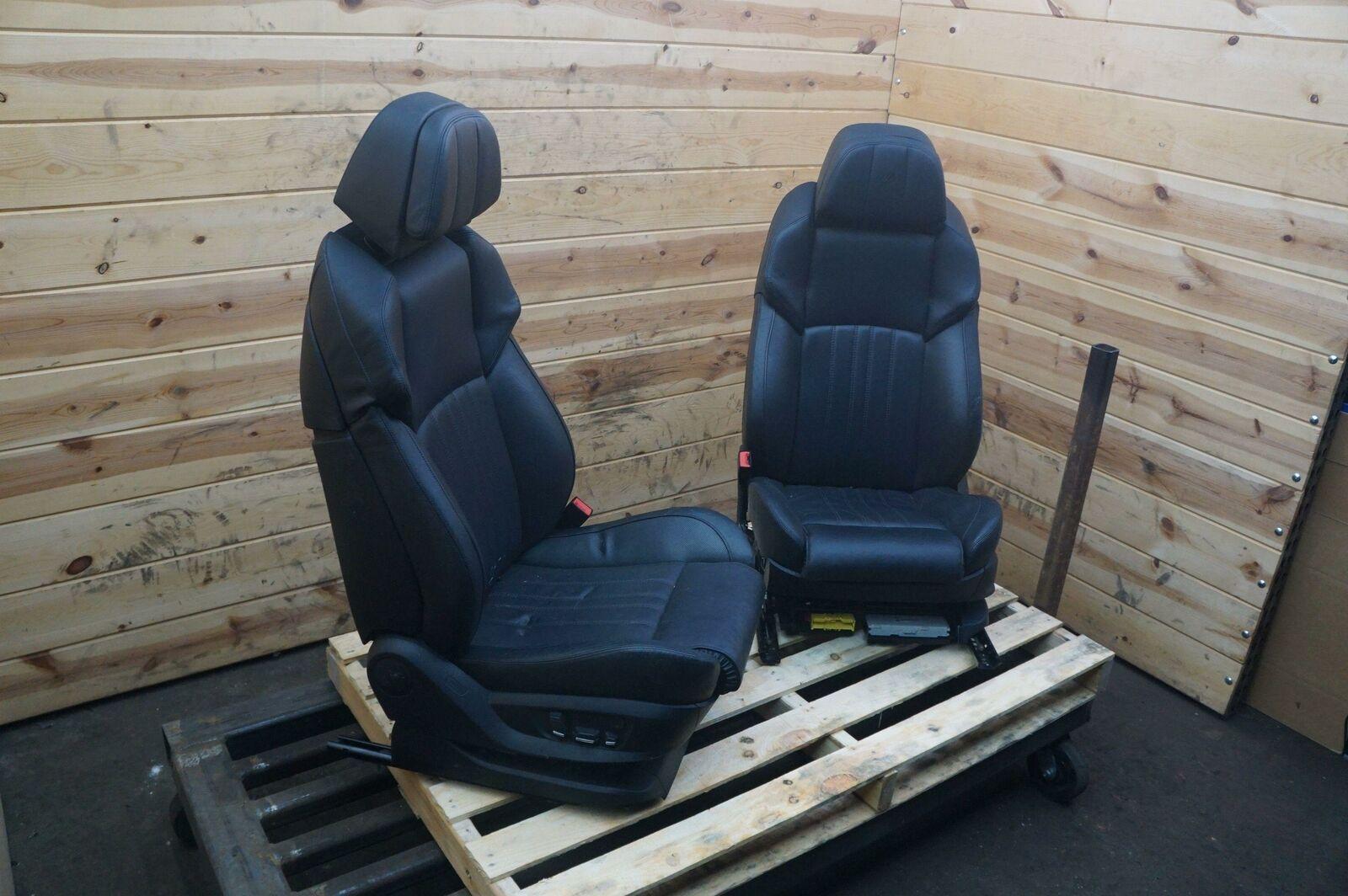 Set Front Left Right Driver Passenger Seat Black Sport Comfort Bmw F10 M5 12 13 Pacific Motors
