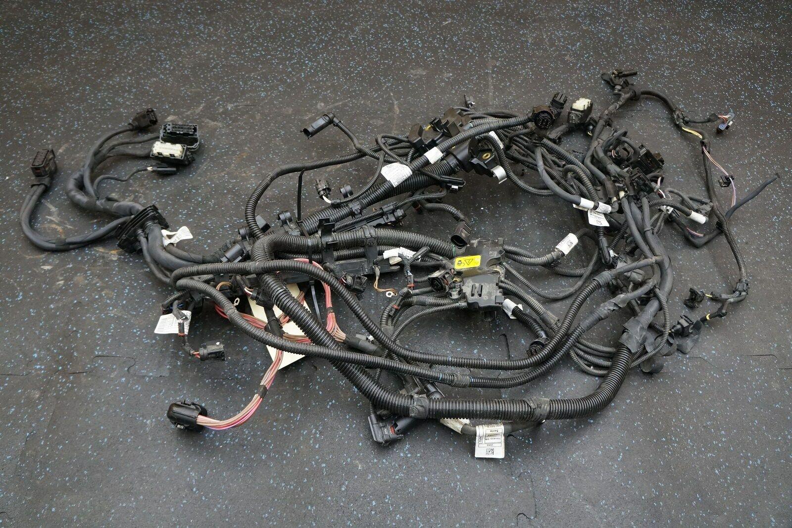 4 4l v8 n63b44b engine wiring wire harness 12518605652 bmw x5 x6 f15 f16