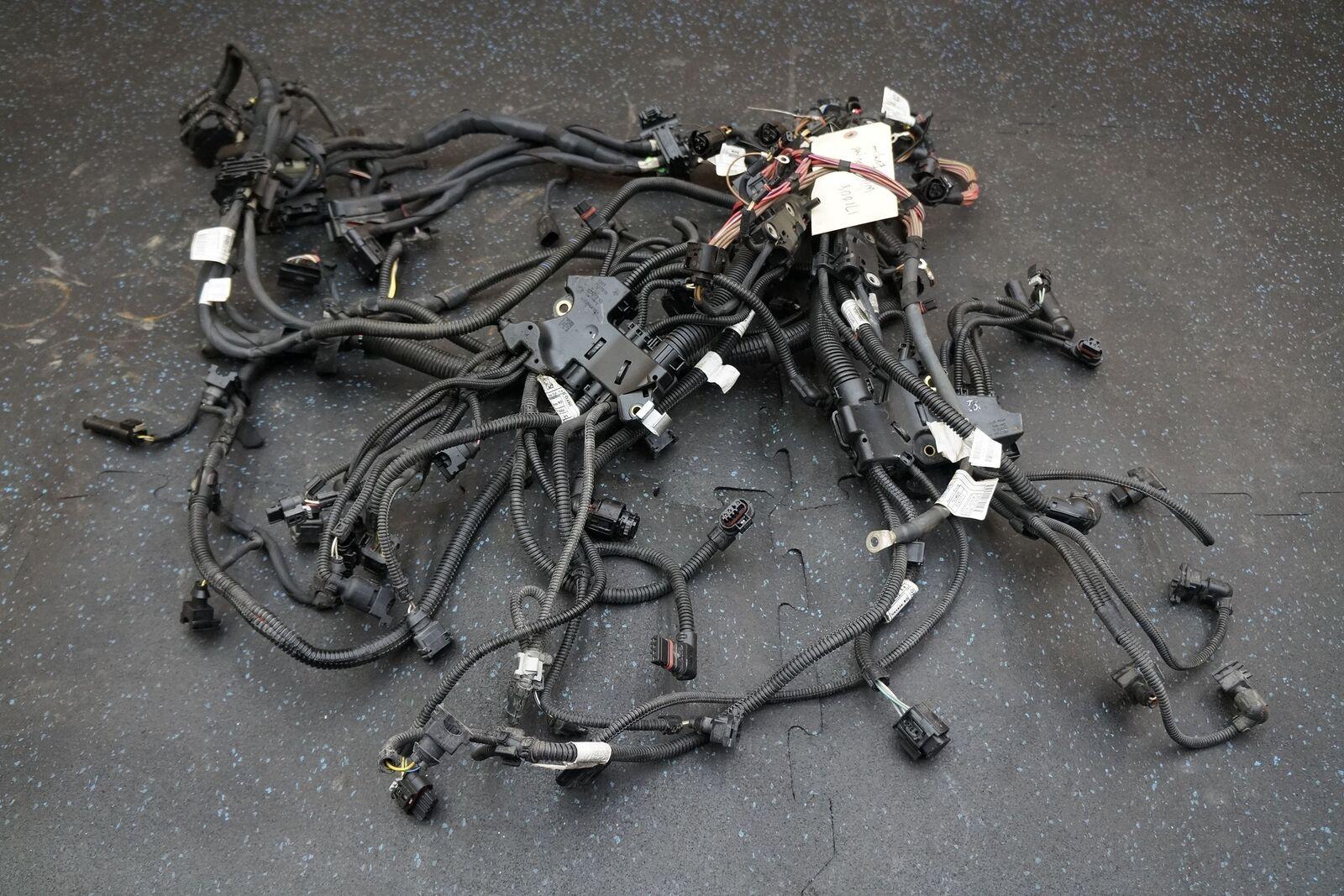 bmw x5 wiring harness 4 4l v8 n63b44b engine wiring wire harness 12518605652 bmw x5 x6  4 4l v8 n63b44b engine wiring wire