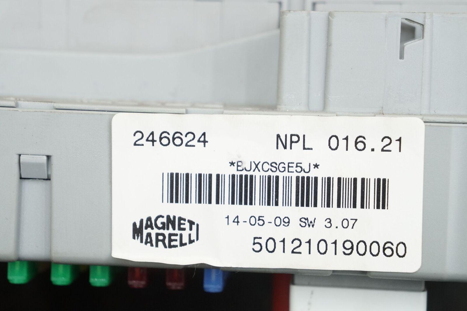 Dash Fuse Box Relay Body Control Module 229377 246624 Ferrari California  2010