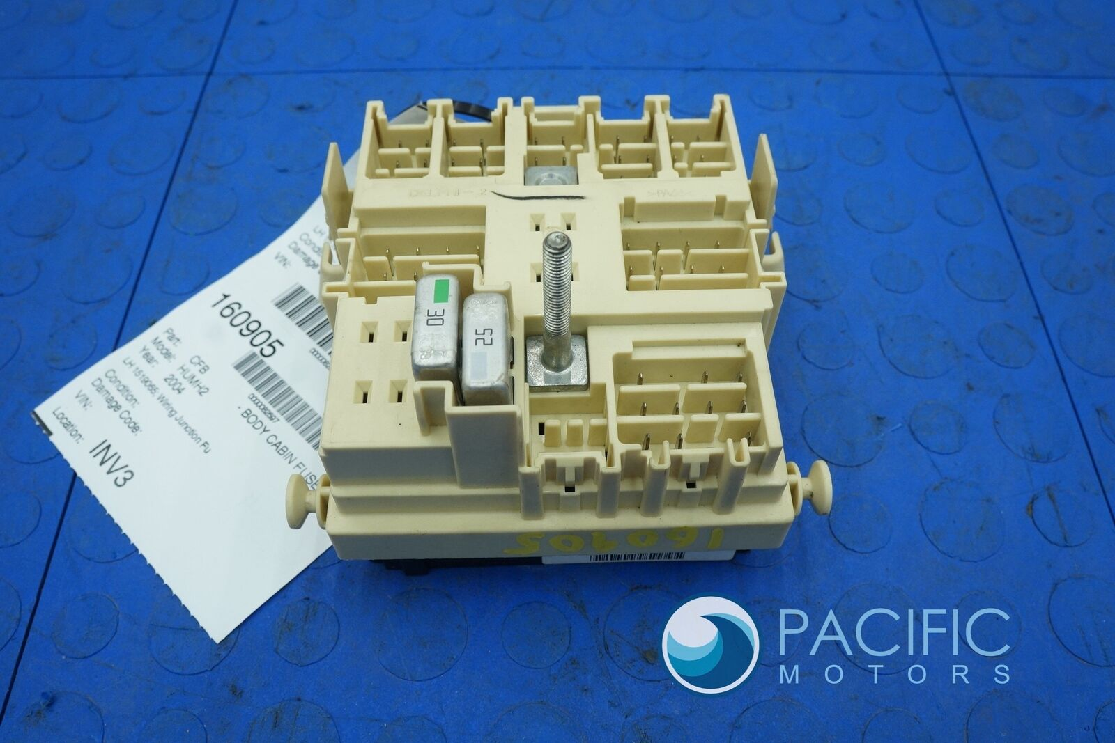Left Footwell Wiring Junction Fuse Box Relay 1519065 Hummer H2 SUV on
