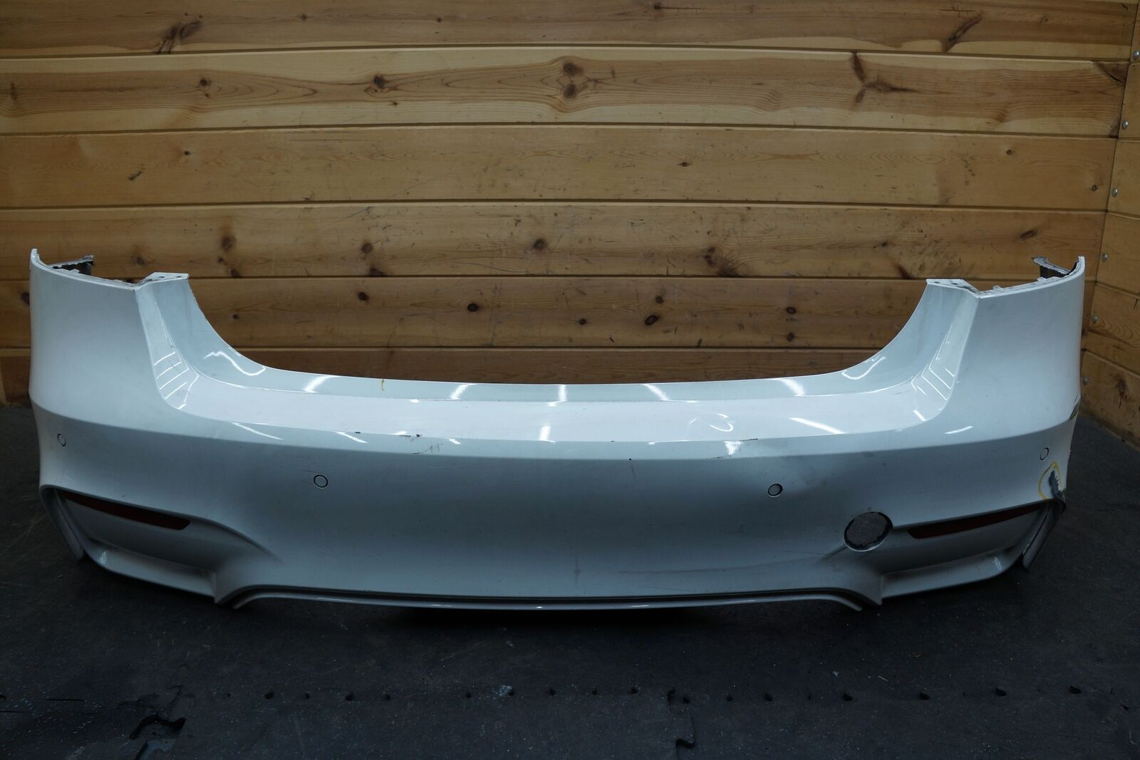 Rear Bumper Cover Park Assist Assembly 51128055991 Oem Bmw M3 F80 2015 18 Note