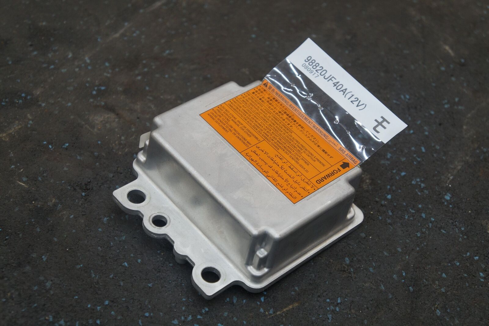 Airbag Restraint System Control Module ECU ECM 98820JF40A OEM Nissan GTR  2009-10
