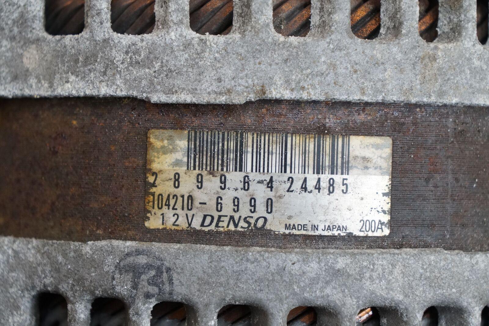 Alternator Generator 289964 303187 OEM Maserati Ghibli Levante M156 M157  2013-18