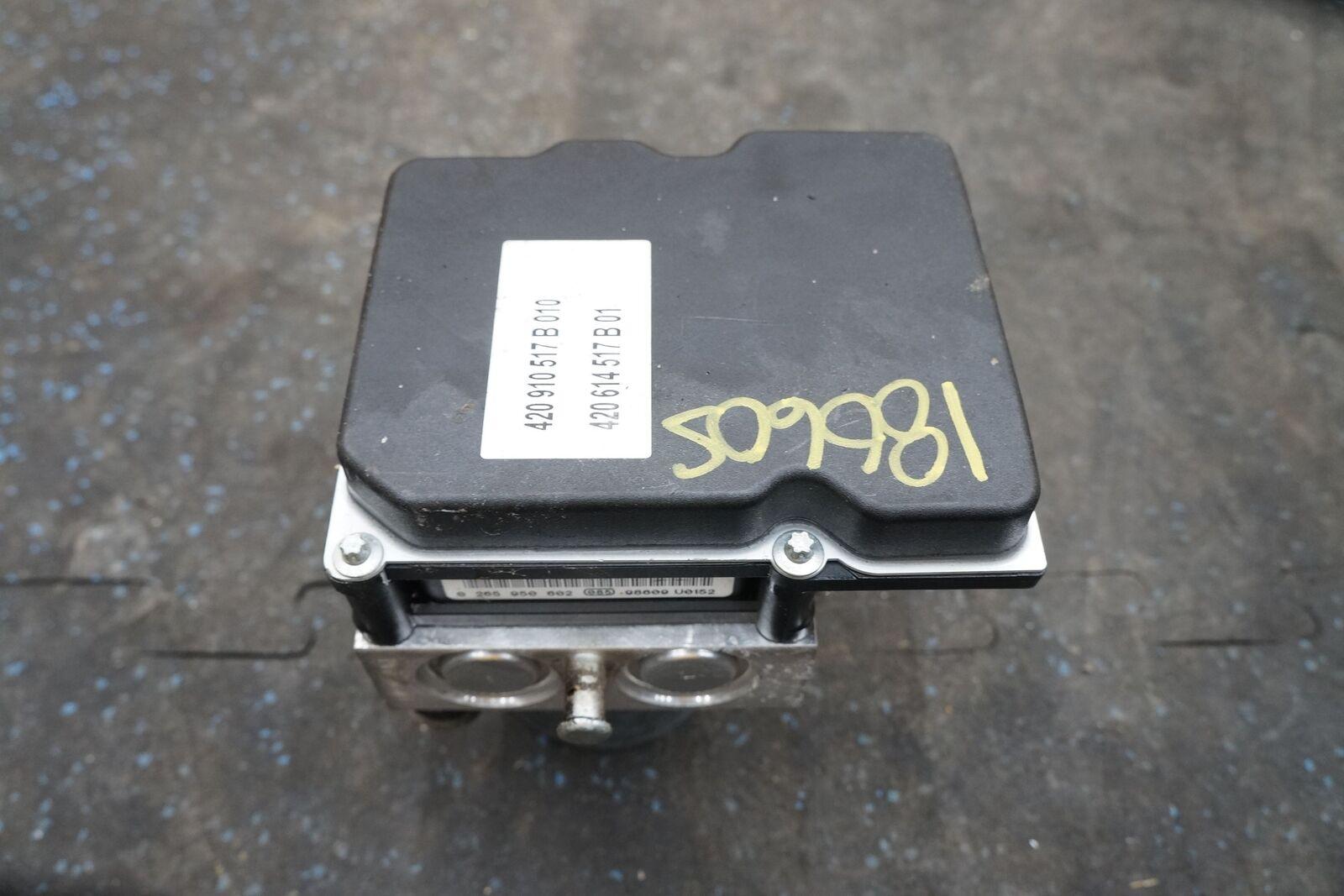 Anti Lock Brake ABS Pump Module Modulator Valve 420614517 OEM Audi R8  2010-13