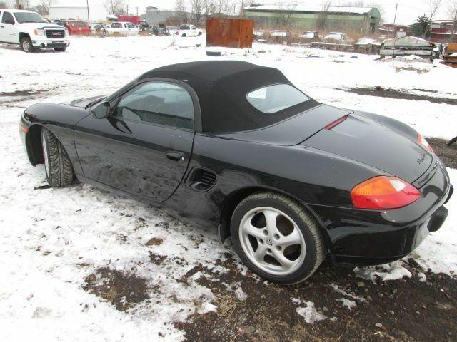 Black Convertible Roof Tonneau Cover Porsche Boxster 986 996 97 04