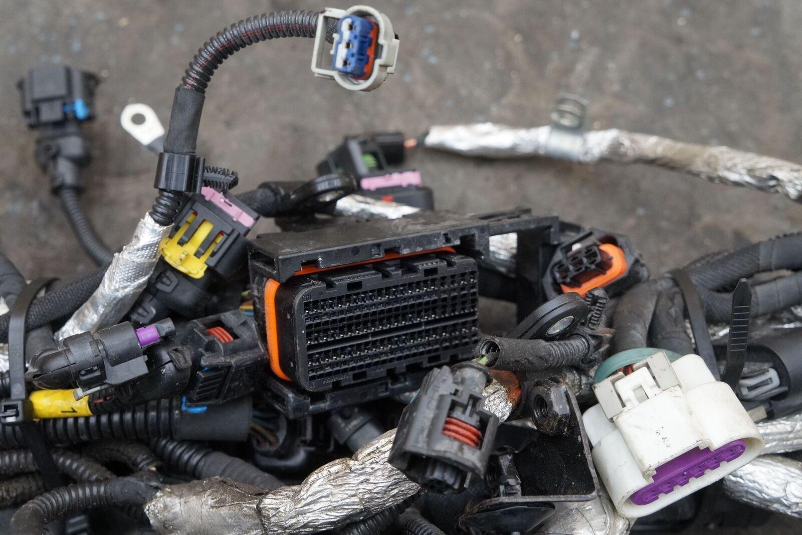 Engine Ignition Wire Wiring Harness 299594 Oem Maserati Ghibli M147