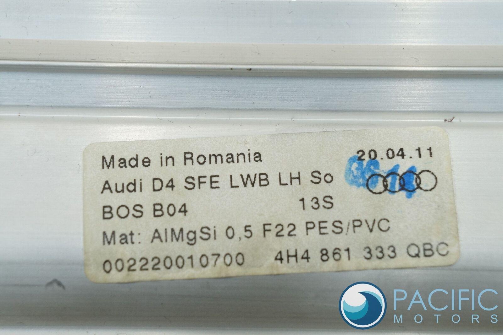 Rear Left Door Window Sun Shade Blind LWB 4H4861333QBC Audi A8L D4 2011-15