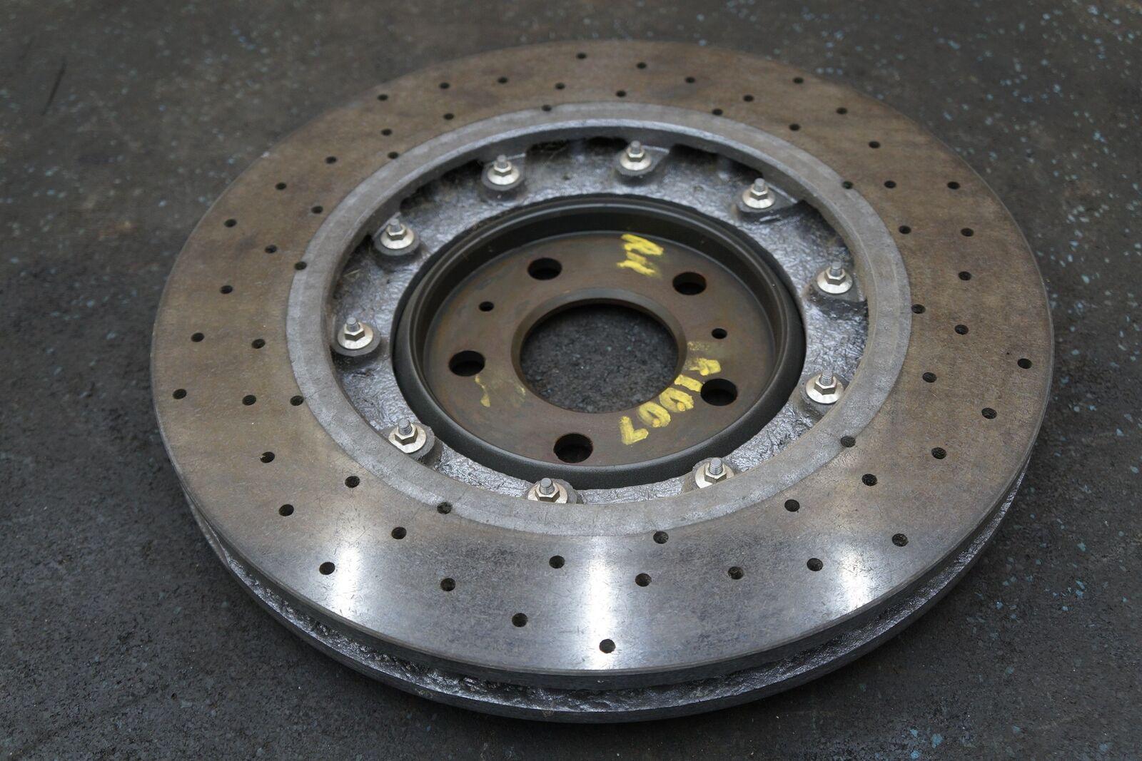 Rear Right Ceramic Brake Rotor CCM 4S0615602A OEM Lamborghini Huracan  Gallardo