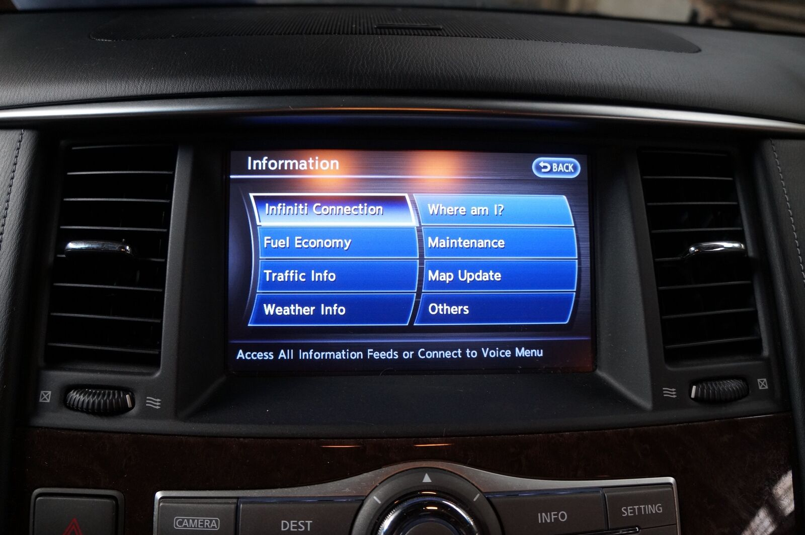 AM FM Radio Receiever CD Player Bose 259151PP0E OEM Infiniti Q70 QX80  2014-16