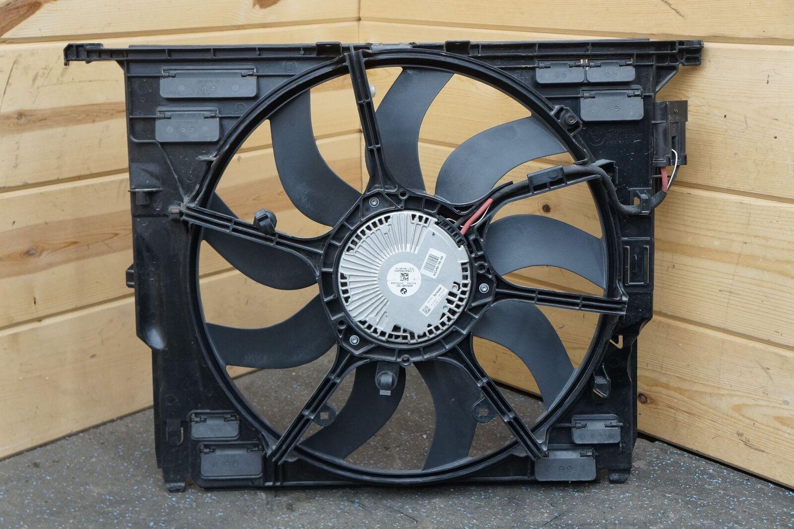 electric radiator cooling motor fan 17427647652 bmw 535i. Black Bedroom Furniture Sets. Home Design Ideas
